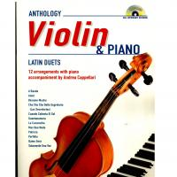 Anthology Violin & Piano Latin Duets 12 arrangements with piano accompaniment - Carisch
