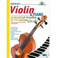 Anthology Violin & Piano Animated movie e tv series duets - Carisch